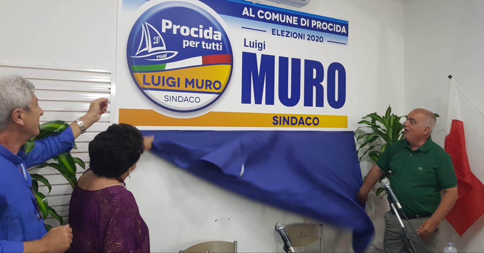 """LUIGI MURO PRESENTA """"PROCIDA PER TUTTI"""" """"L'entusiasmo e la competenza al servizio della mia isola"""""""
