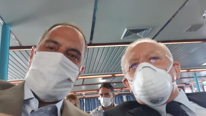 VISITA DE LUCA A ISCHIA: SCOPPIA LA POLEMICA AMBROSINO-MURO