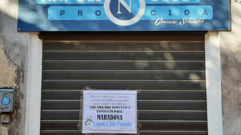 AD1OS Diego: il cordoglio del club azzurro procidano